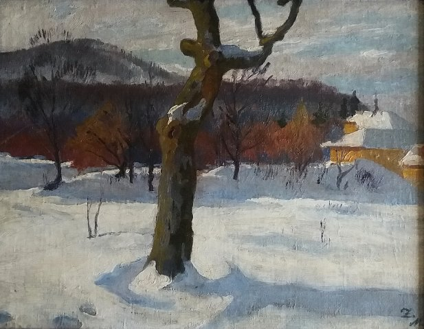 Téli táj / Winter landscape (1930-as évek / 1930s)